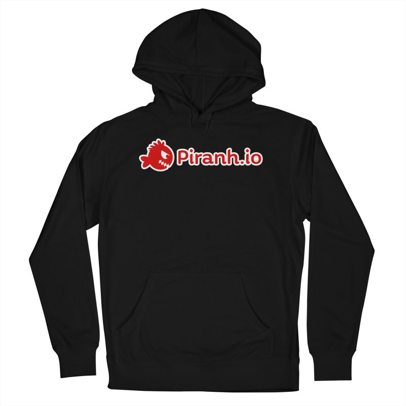 Piranh.io logo Men's French Terry Pullover Hoody by Kiemura Merchandise