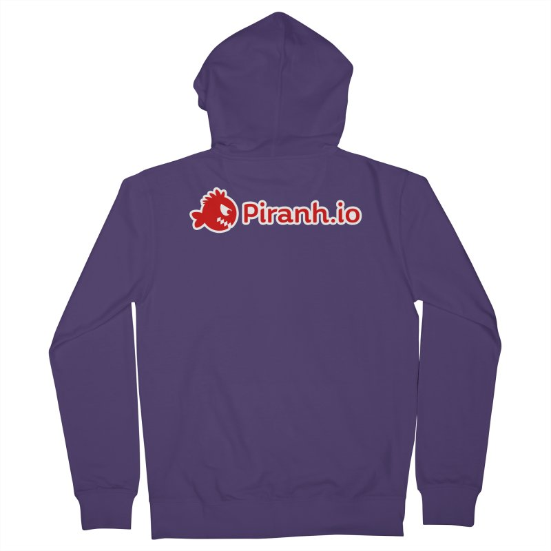 Piranh.io logo Women's Zip-Up Hoody by Kiemura Merchandise