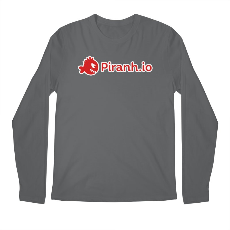 Piranh.io logo Men's Longsleeve T-Shirt by Kiemura Merchandise