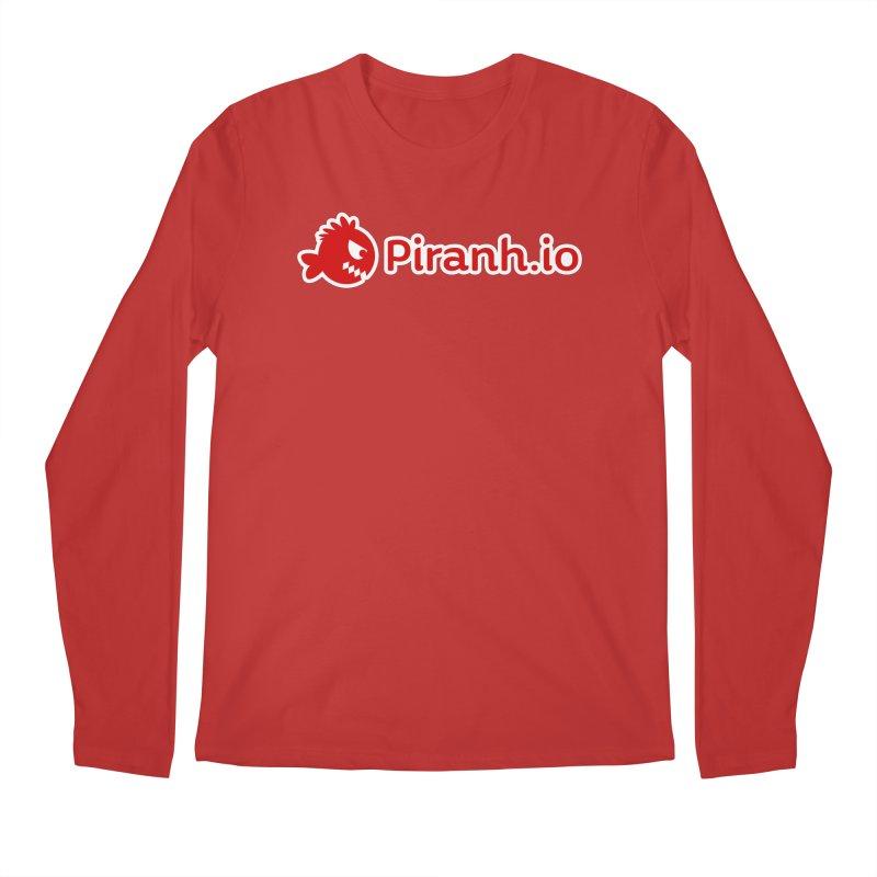 Piranh.io logo Men's Longsleeve T-Shirt by Kiemura Merchandise