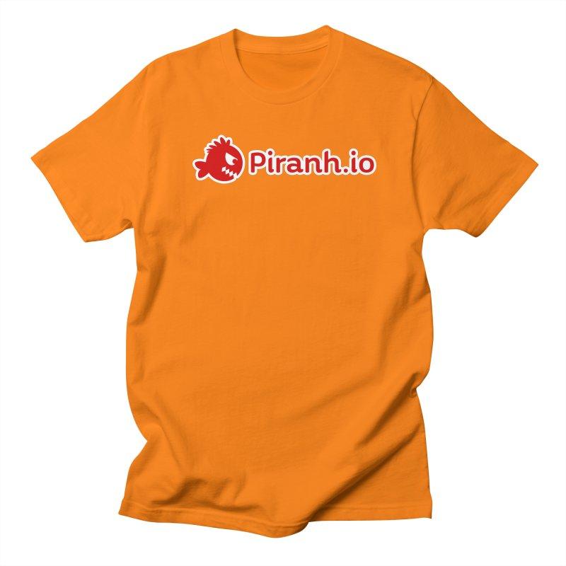 Piranh.io logo Men's Regular T-Shirt by Kiemura Merchandise