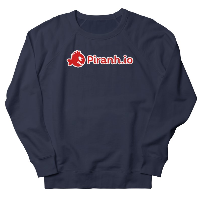 Piranh.io logo Women's French Terry Sweatshirt by Kiemura Merchandise