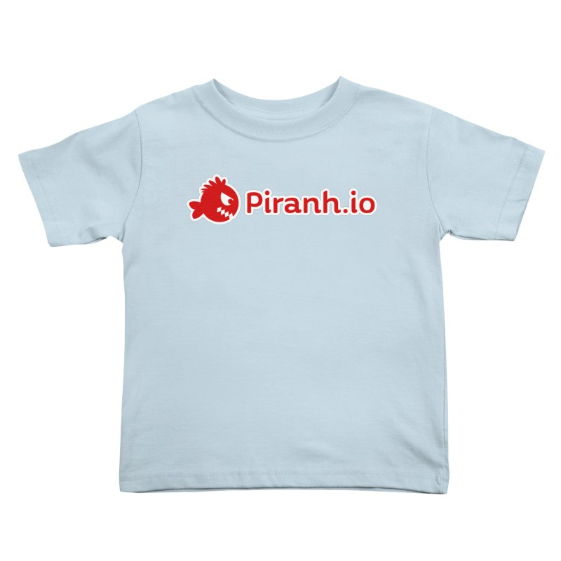 Piranh.io logo Kids Toddler T-Shirt by Kiemura Merchandise