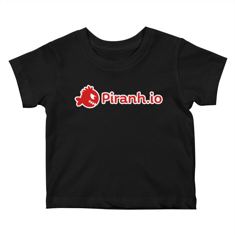 Piranh.io logo Kids Baby T-Shirt by Kiemura Merchandise