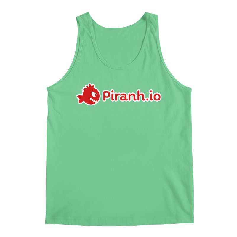 Piranh.io logo Men's Regular Tank by Kiemura Merchandise