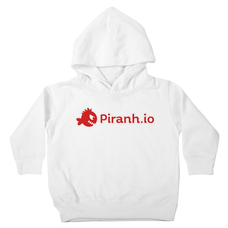 Piranh.io logo Kids Toddler Pullover Hoody by Kiemura Merchandise