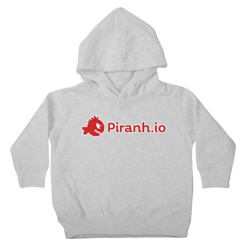 Piranh.io logo Kids Toddler Pullover Hoody by Kiemura Merchandise
