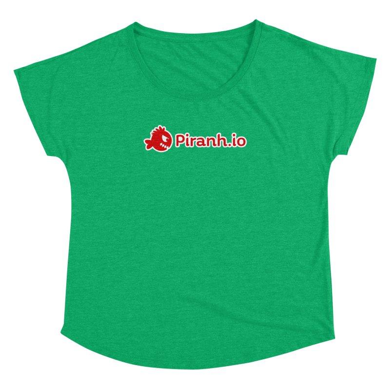 Piranh.io logo Women's Dolman by Kiemura Merchandise