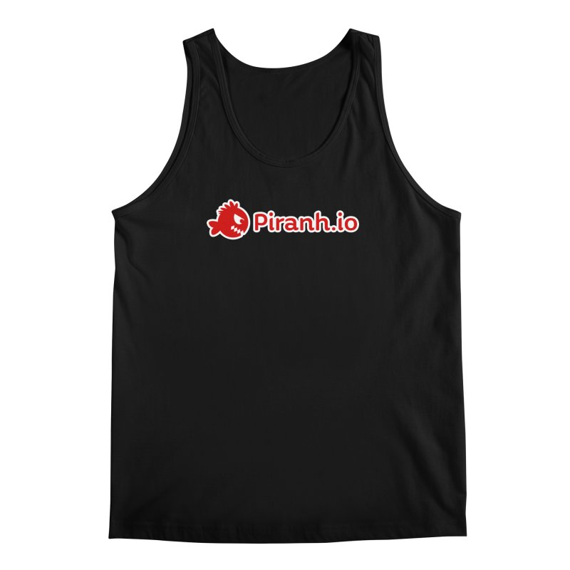 Piranh.io logo Men's Tank by Kiemura Merchandise