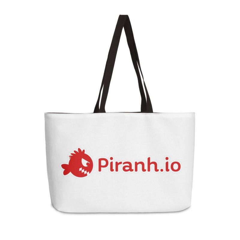 Piranh.io logo Accessories Weekender Bag Bag by Kiemura Merchandise