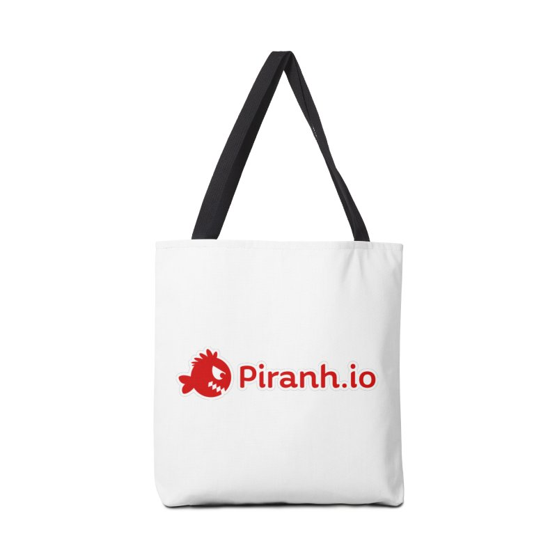 Piranh.io logo Accessories Bag by Kiemura Merchandise