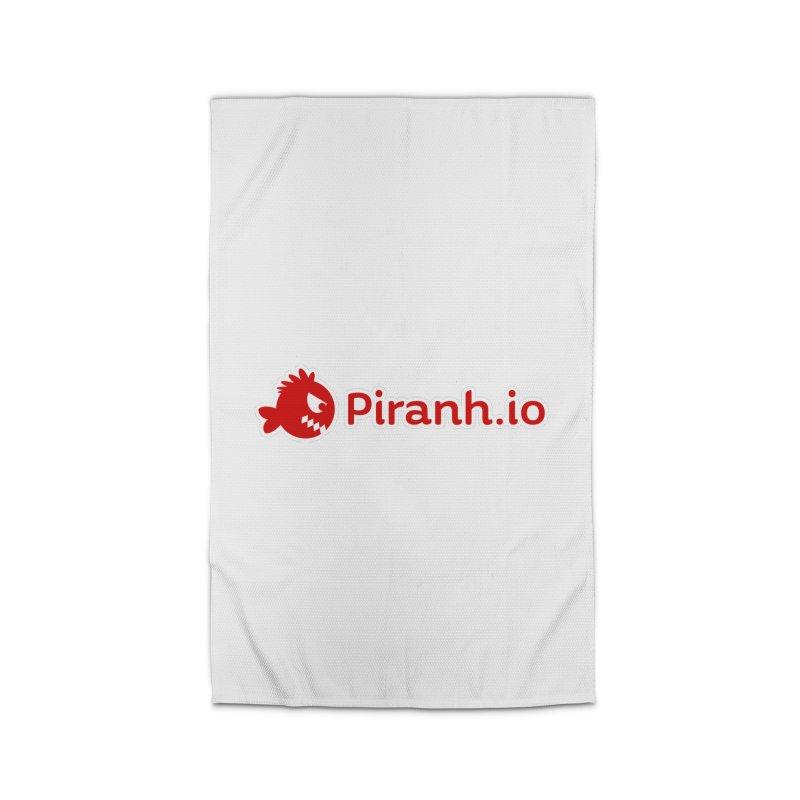 Piranh.io logo Home Rug by Kiemura Merchandise