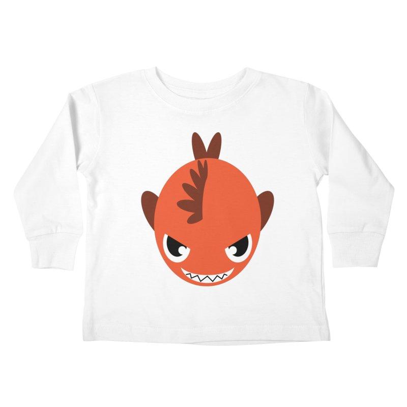 Orange piranha   by Kiemura Merchandise