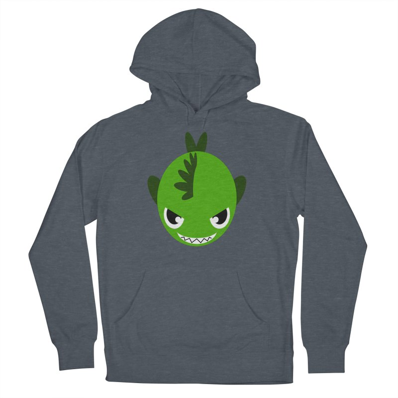 Green piranha Women's Pullover Hoody by Kiemura Merchandise