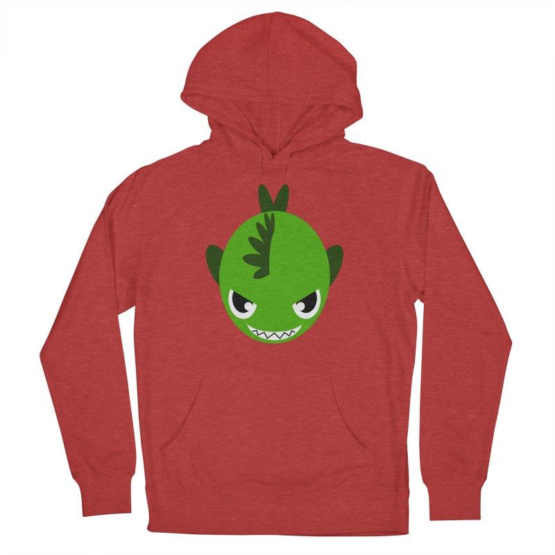 Green piranha Women's Pullover Hoody by Kiemura Merchandise
