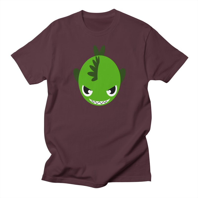Green piranha Men's Regular T-Shirt by Kiemura Merchandise