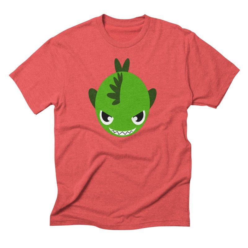 Green piranha Men's Triblend T-Shirt by Kiemura Merchandise