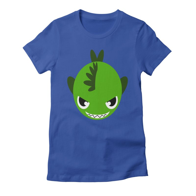Green piranha   by Kiemura Merchandise
