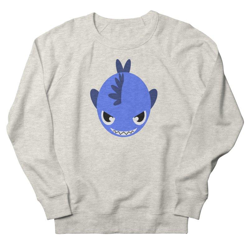 Blue piranha Women's Sweatshirt by Kiemura Merchandise