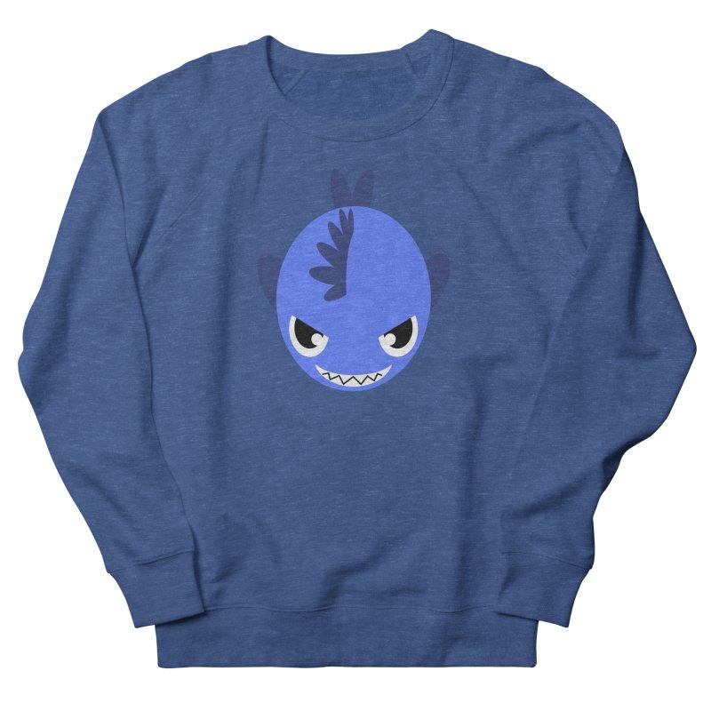 Blue piranha Men's Sweatshirt by Kiemura Merchandise