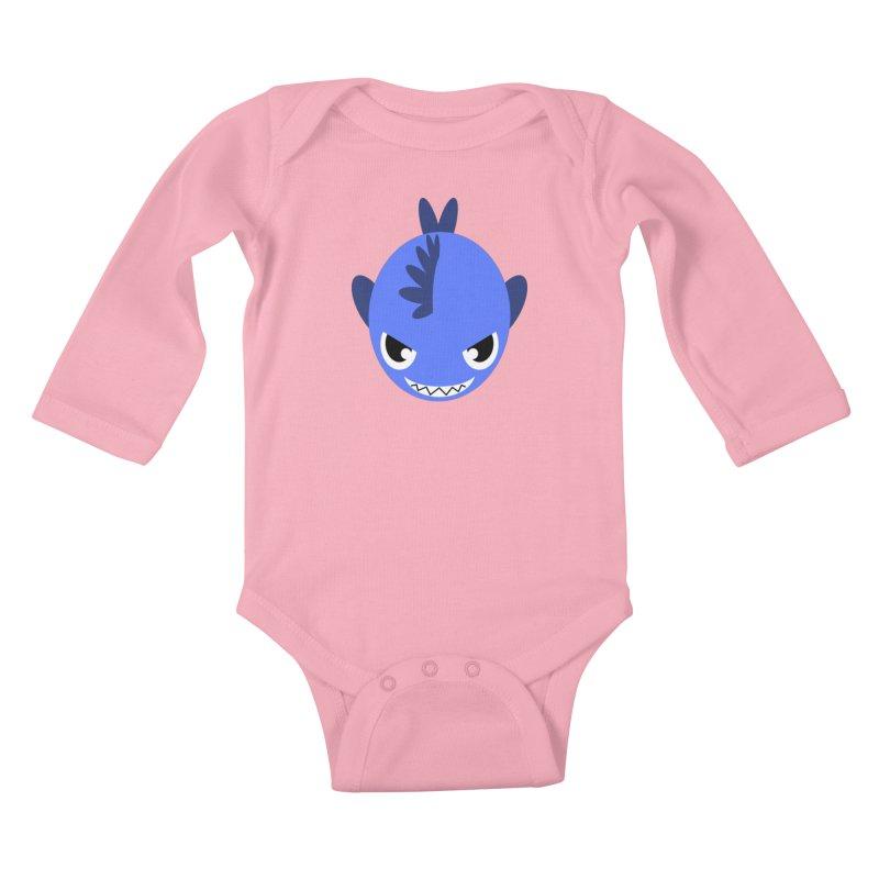 Blue piranha   by Kiemura Merchandise