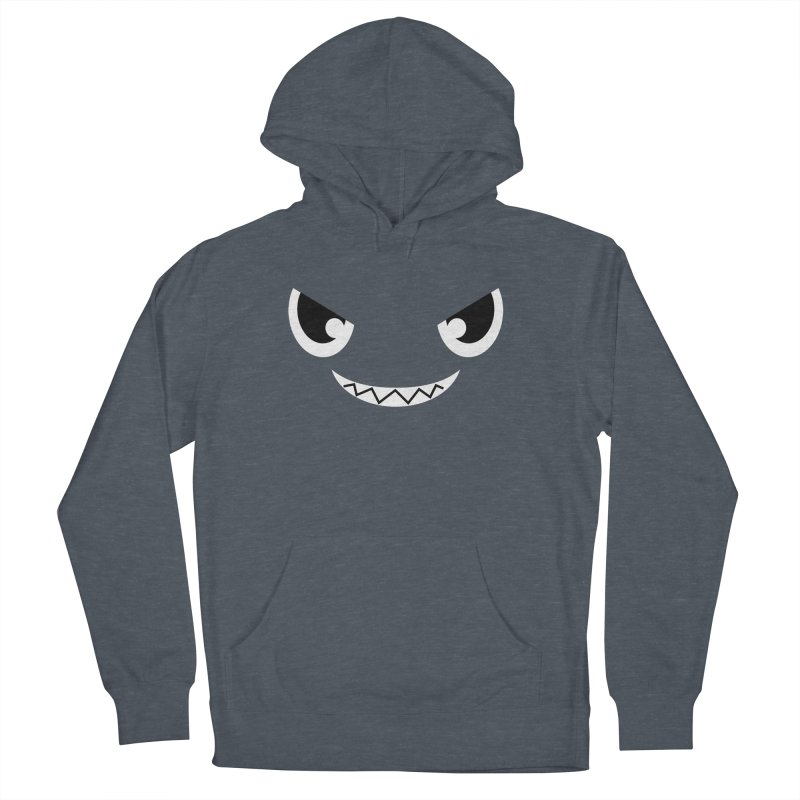 Piranha Face Men's French Terry Pullover Hoody by Kiemura Merchandise