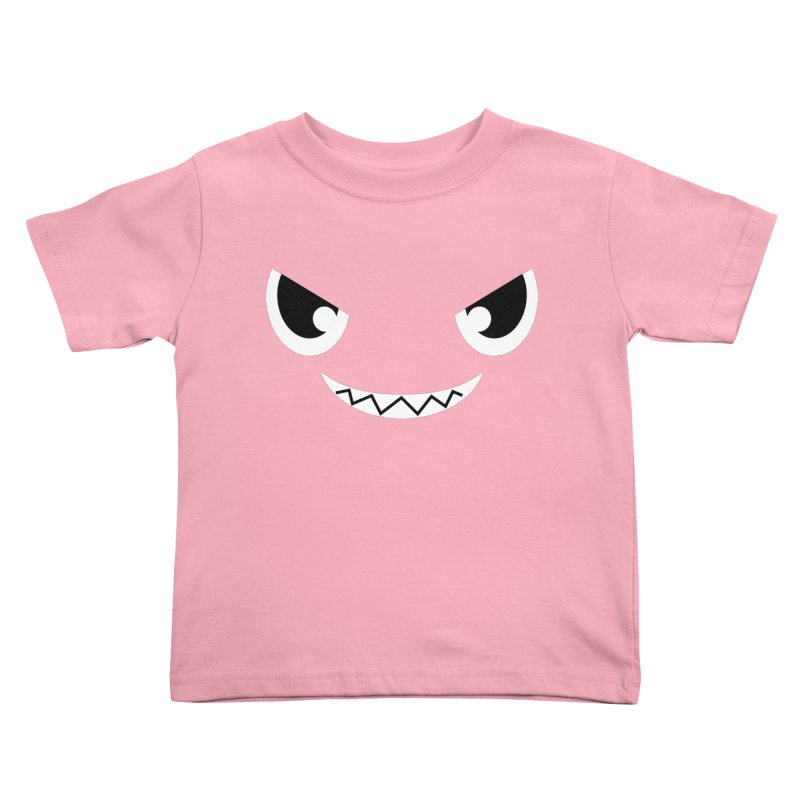 Piranha Face Kids Toddler T-Shirt by Kiemura Merchandise