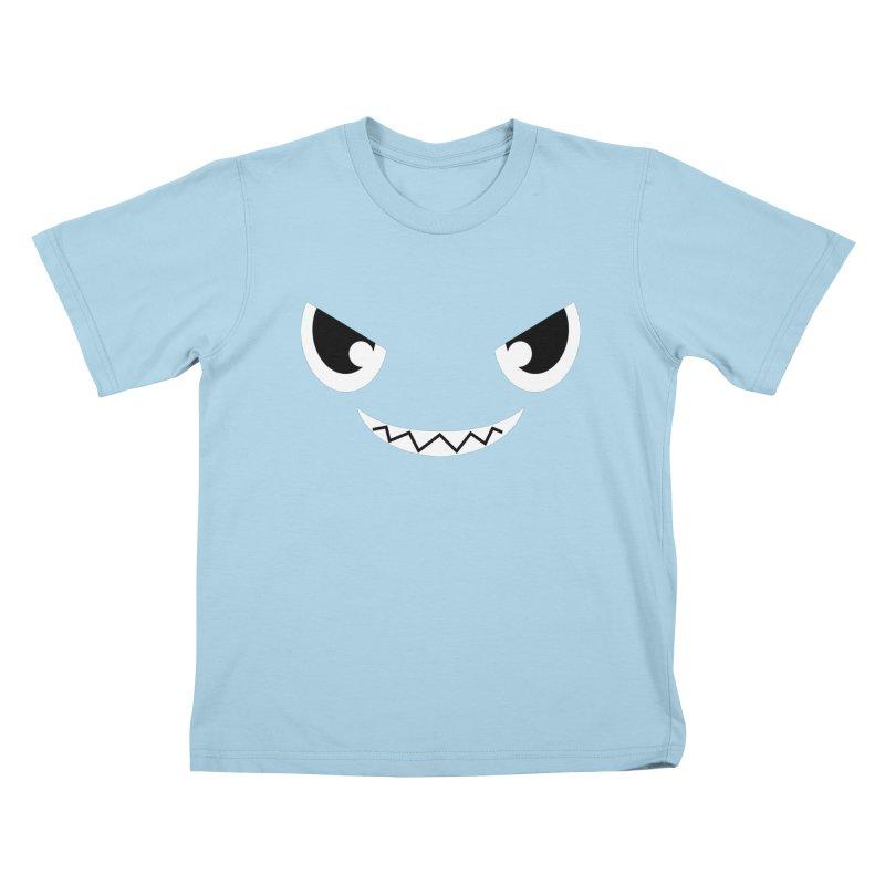 Piranha Face Kids T-Shirt by Kiemura Merchandise