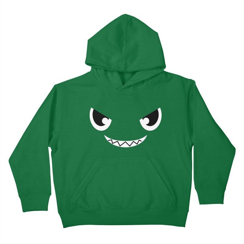 Piranha Face Kids Pullover Hoody by Kiemura Merchandise