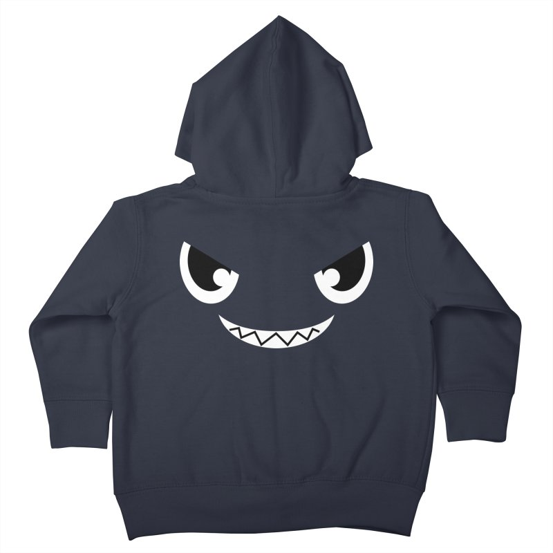 Piranha Face Kids Toddler Zip-Up Hoody by Kiemura Merchandise