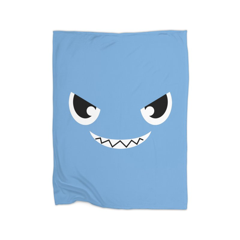 Piranha Face Home Blanket by Kiemura Merchandise
