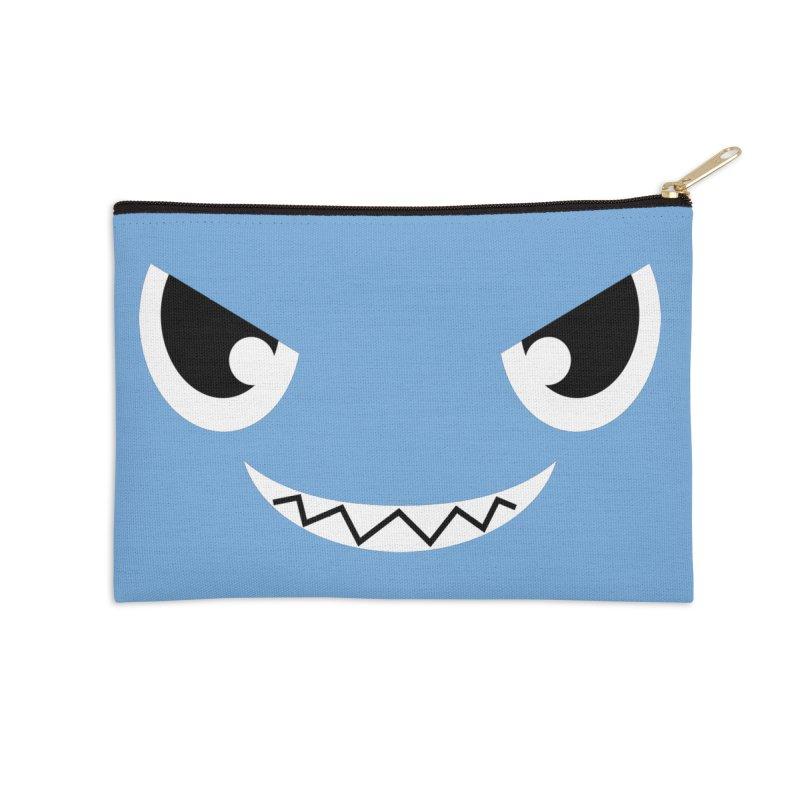 Piranha Face Accessories Zip Pouch by Kiemura Merchandise