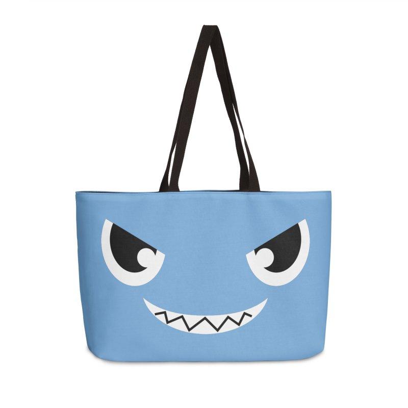 Piranha Face Accessories Weekender Bag Bag by Kiemura Merchandise