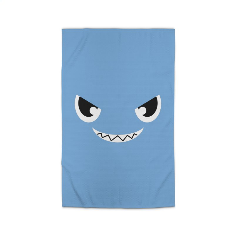 Piranha Face Home Rug by Kiemura Merchandise