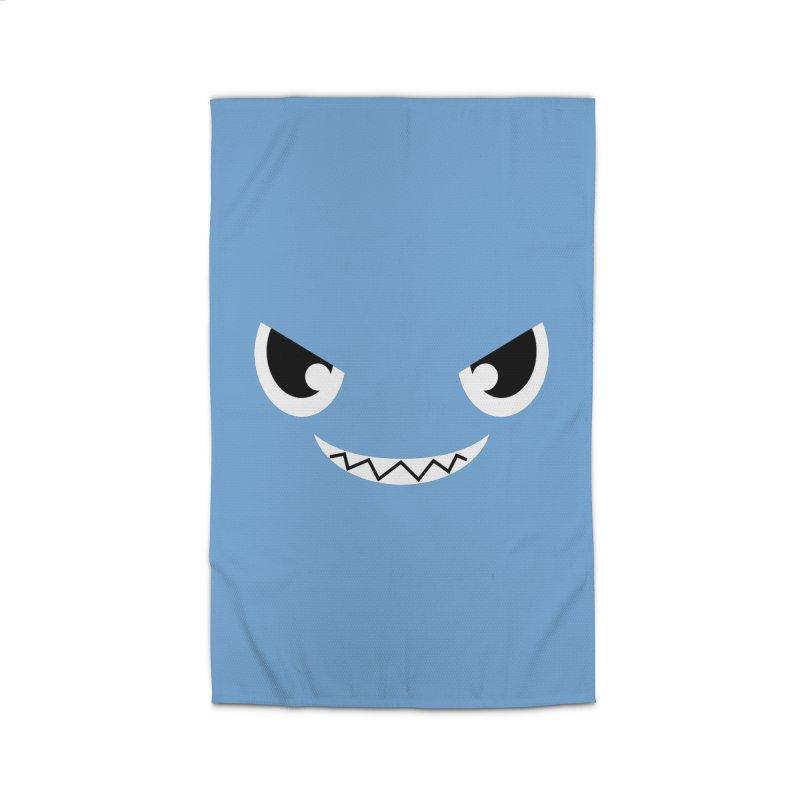 Piranha Face Home Rug by Kiemura Merchandise