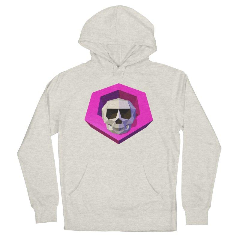 Tiltagon low-poly skull Men's Pullover Hoody by Kiemura Merchandise