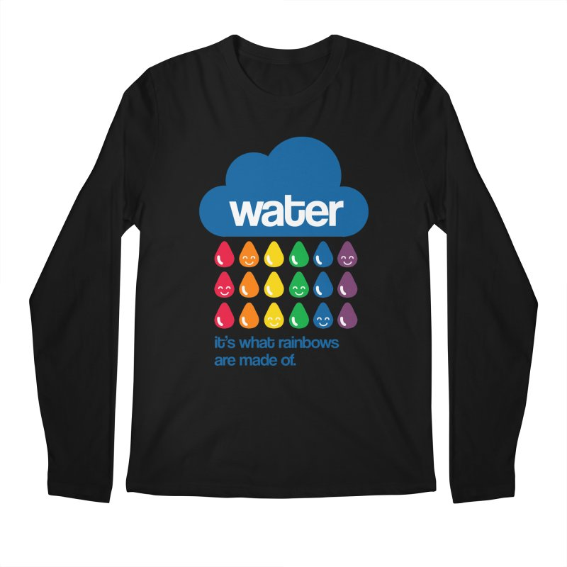 What Rainbows Are Made Of Men's Longsleeve T-Shirt by Tees, prints, and more by Kiki B