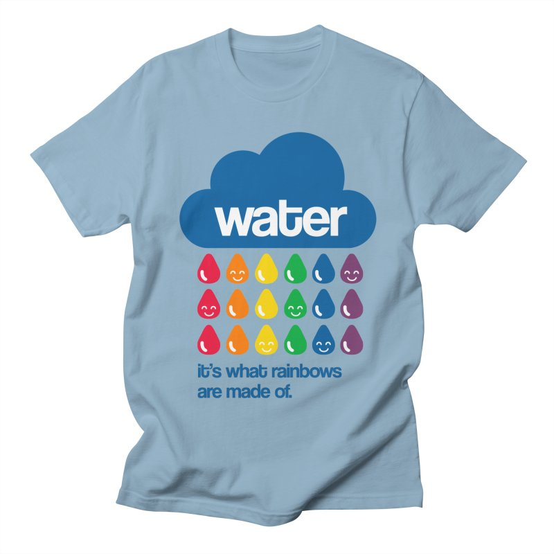 What Rainbows Are Made Of Women's Regular Unisex T-Shirt by Tees, prints, and more by Kiki B