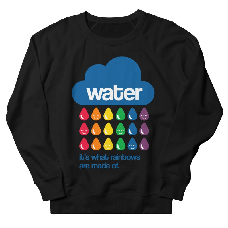 What Rainbows Are Made Of Men's French Terry Sweatshirt by Tees, prints, and more by Kiki B
