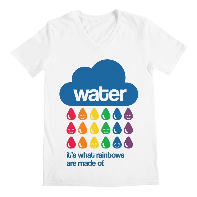 What Rainbows Are Made Of Men's V-Neck by Tees, prints, and more by Kiki B