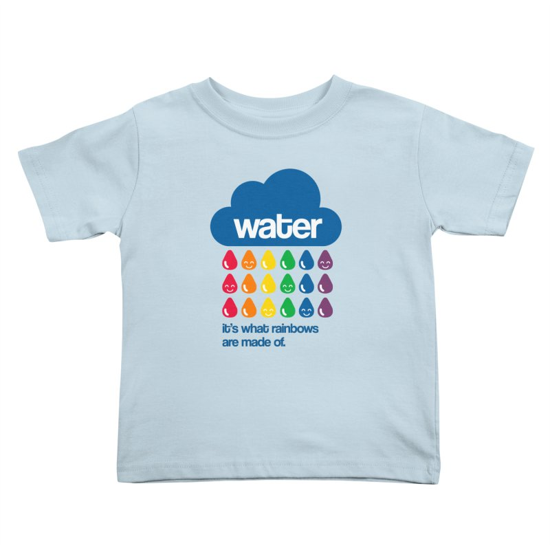 What Rainbows Are Made Of Kids Toddler T-Shirt by Tees, prints, and more by Kiki B