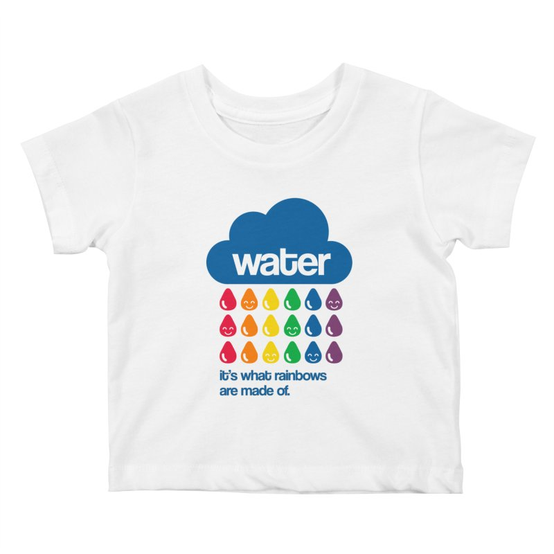 What Rainbows Are Made Of Kids Baby T-Shirt by Tees, prints, and more by Kiki B