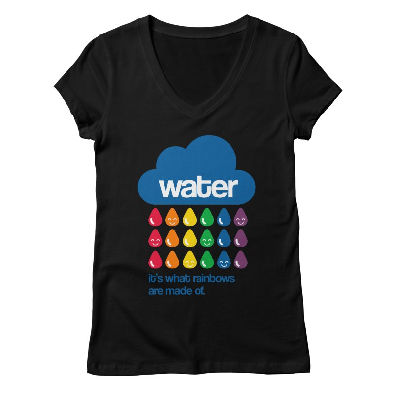 What Rainbows Are Made Of Women's V-Neck by Tees, prints, and more by Kiki B