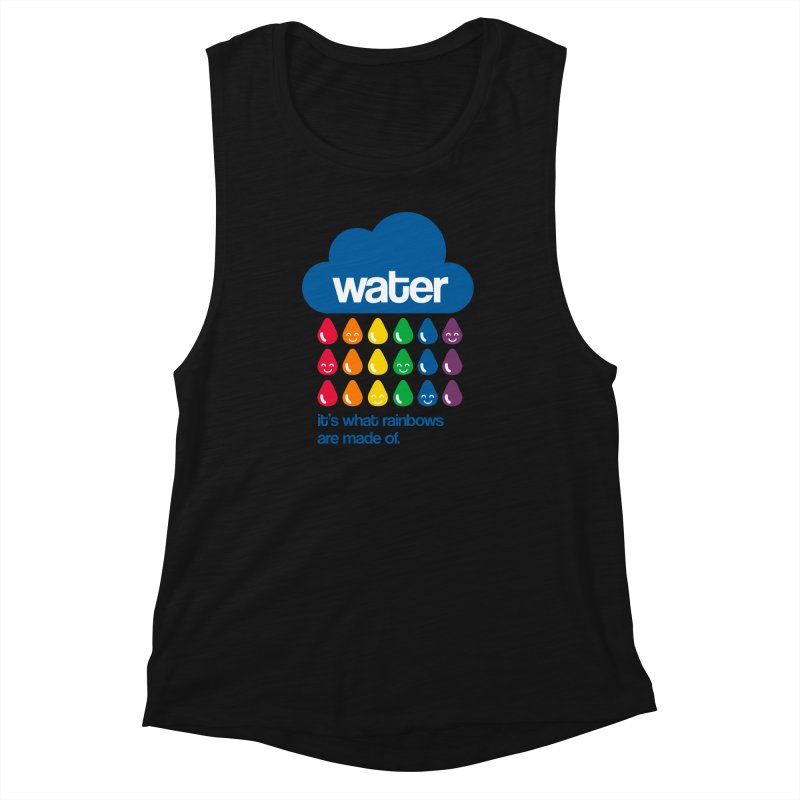 What Rainbows Are Made Of Women's Muscle Tank by Tees, prints, and more by Kiki B