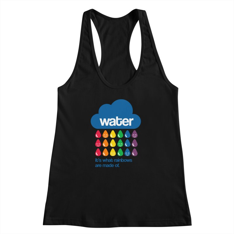 What Rainbows Are Made Of Women's Racerback Tank by Tees, prints, and more by Kiki B