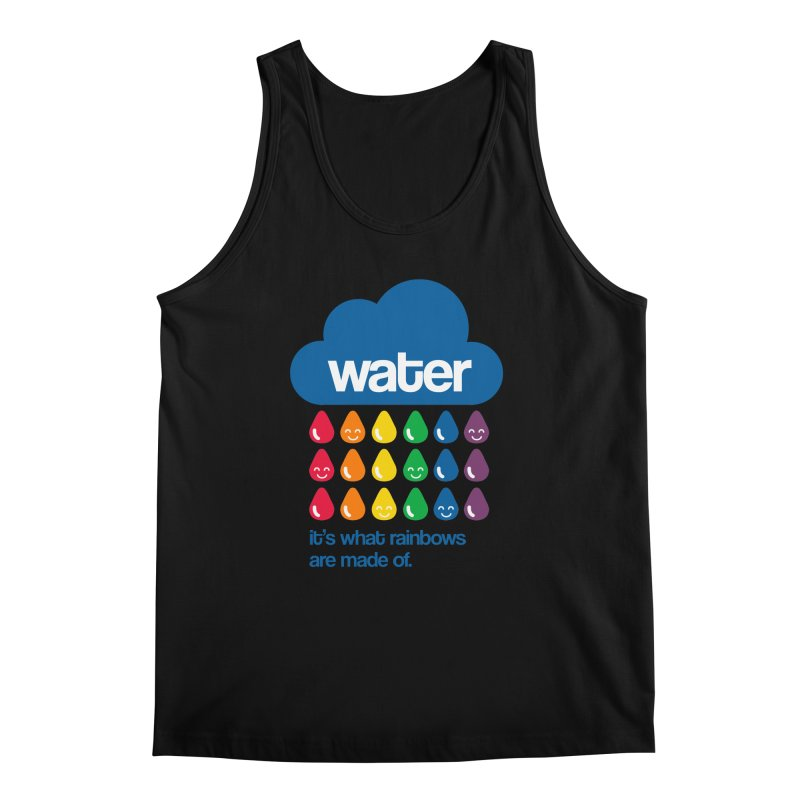What Rainbows Are Made Of Men's Tank by Tees, prints, and more by Kiki B
