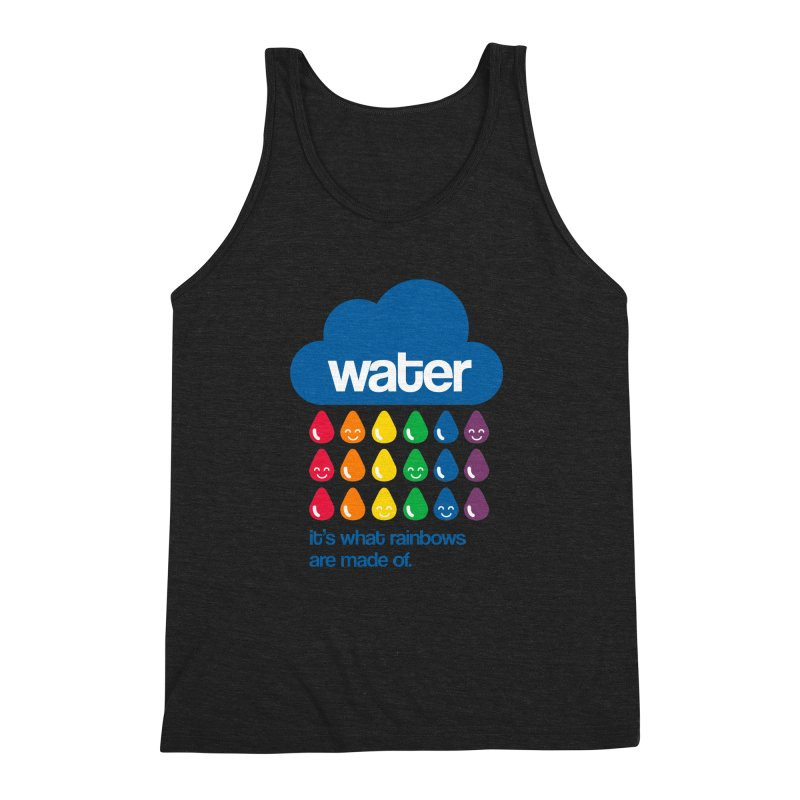 What Rainbows Are Made Of Men's Triblend Tank by Tees, prints, and more by Kiki B