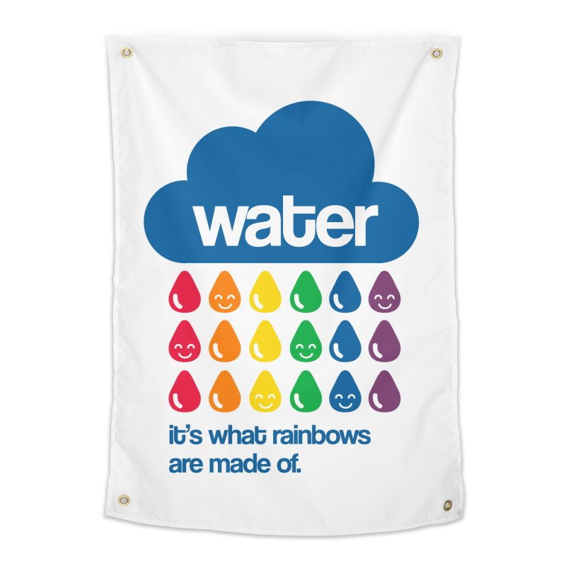 What Rainbows Are Made Of Home Tapestry by Tees, prints, and more by Kiki B