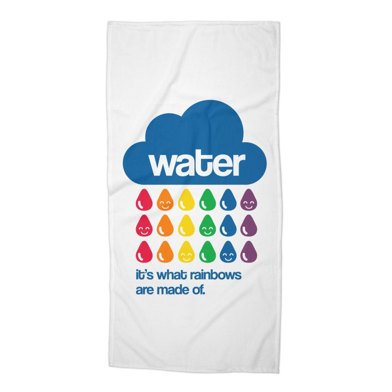 What Rainbows Are Made Of Accessories Beach Towel by Tees, prints, and more by Kiki B