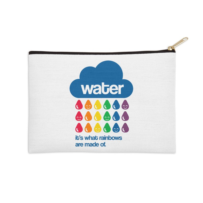 What Rainbows Are Made Of Accessories Zip Pouch by Tees, prints, and more by Kiki B